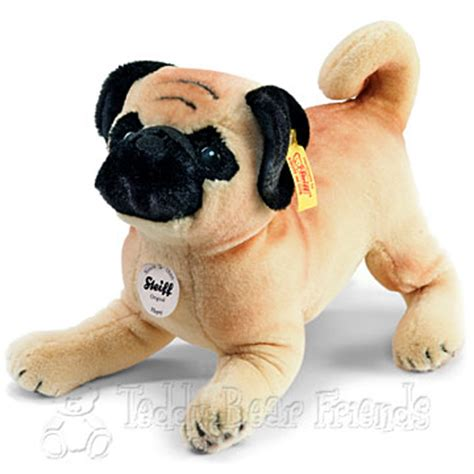 pug teddy pug steiff teddy friends