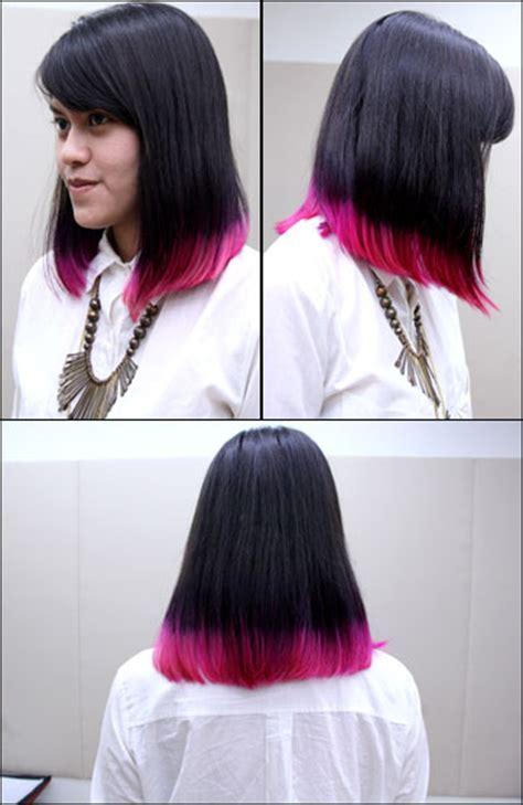 tutorial ombre rambut ungu lanang barbershop poris til berani dengan tren rambut