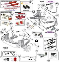 interactive diagram wrangler tj suspension parts jeep