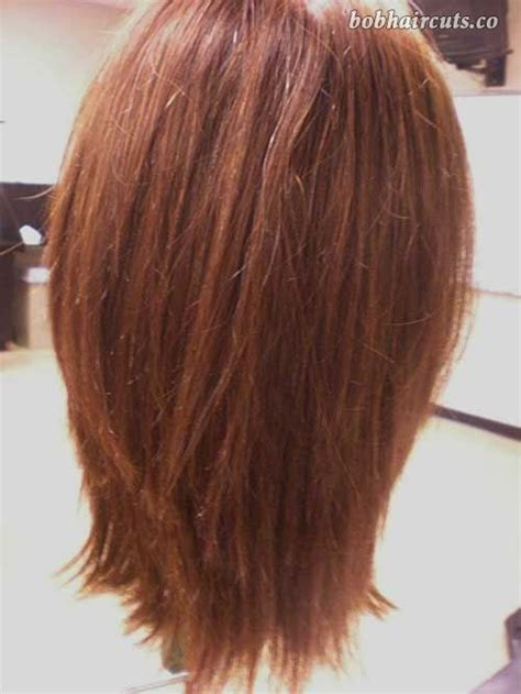 choppy layered bob back 15 long bob haircuts back view 8 lobhairstyles long