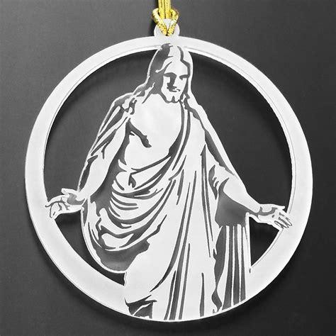 christus lds ornaments jesus christmas ornaments