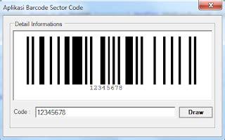 membuat aplikasi barcode membuat barcode menggunakan vb net sector code