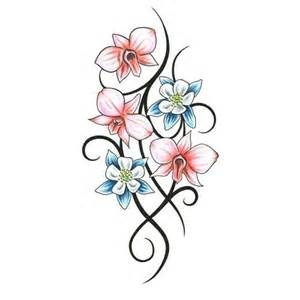 orchid tattoo meaning s 233 lection tatouage fleur orchid 233 e justeuntattoo com