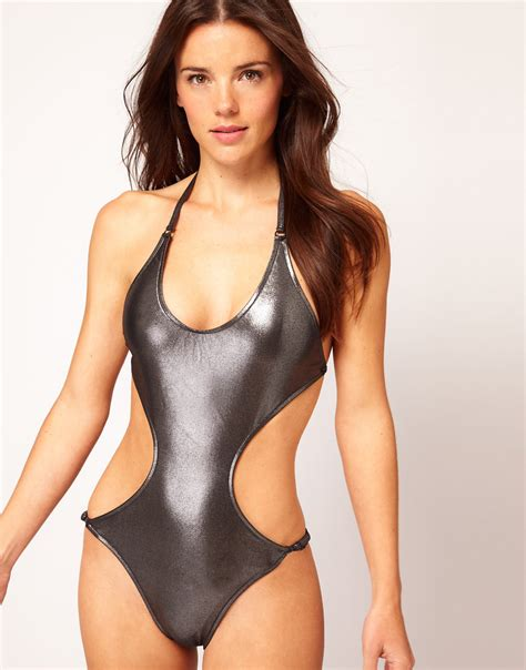 Metallic In The Summer by 2013 Top 5 Summer Swimsuit Trends Swimsuits Summer And