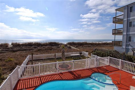 myrtle beach beach house rentals cherry palms oceanfront pool house hot tub north myrtle beach rental property