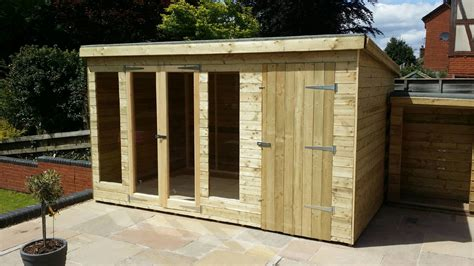 Summer House And Shed Combination shed king liverpool sheds timber buildings garden