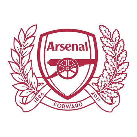 tattoo logo arsenal the 2011 2012 badge crazy awesome 125th anniversary
