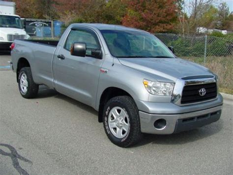 toyota tundra long bed for sale sell used 2007 toyota tundra sr5 4x4 regular cab long bed