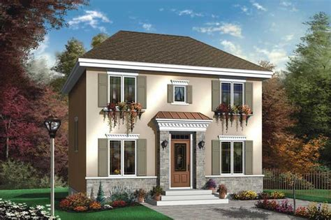 Small European House Plans by Small Contemporary European House Plans Home Design Dd