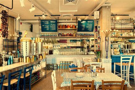 design a greek menu fresh looking greek restaurant the blue tones and