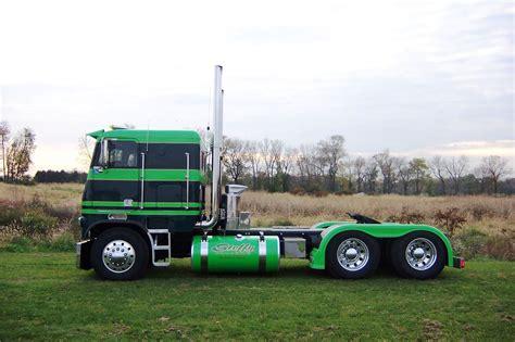 used semi trucks peterbilt cabover trucks w sleeper for sale autos post