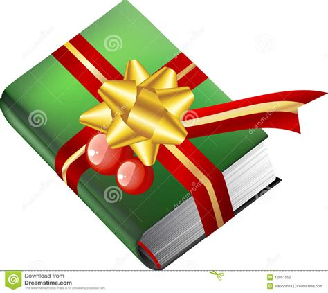 book gift for christmas stock vector image of gift