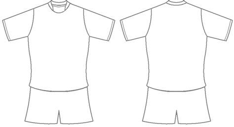 soccer shirt template football shirt template clipart best