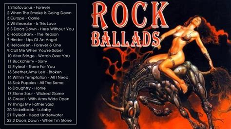 Best Rock Ballads Hits 2017   Rock Ballads Songs playlist