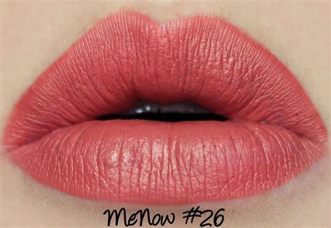 Menow Longlasting Lipgloss menow generation ii lasting lipgloss 26 swatches