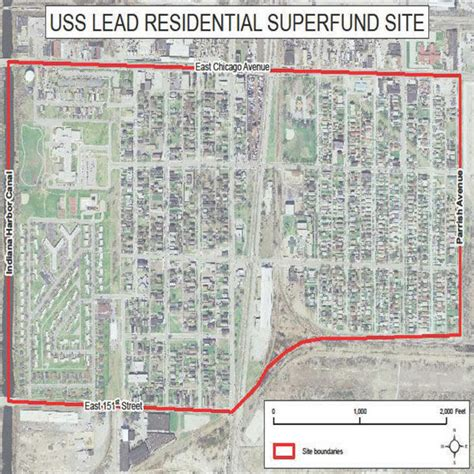 superfund site map west calumet residents advised to relocate because of lead lake county news nwitimes com