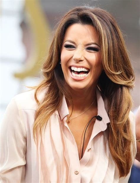 eva longoria hair color balayage highlights for brunette blonde caramel and red hair