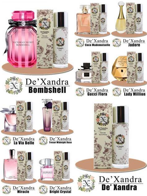 Minyak Wangi Dexandra aku bukan bidadari de xandra perfume inspirasi wangian