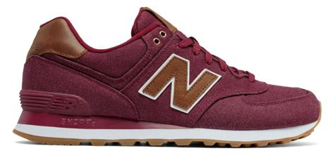 Sneakers Casual New Balance Ml574cna Hitam Original new balance 574 15 ounce canvas ml574txd for beet brown wnps