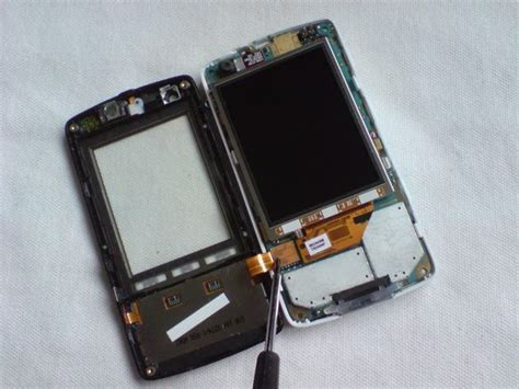 Lcd W960i w960i classic disassembly