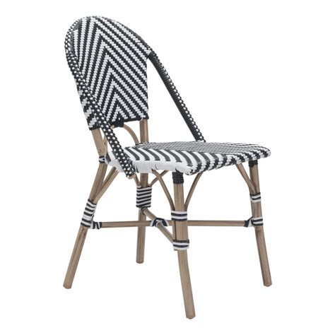 White Metal Patio Chairs White Metal Outdoor Dining Chairs Chairs Seating