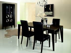 Modern Black Dining Room Sets Modern Black Dining Room Sets Marceladick