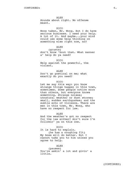 Josephfaultersack Tv Pilot Script Sle Tv Show Script Template