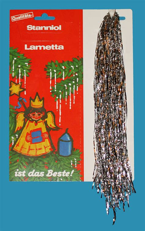 weihnachtsbaum mit ddr lametta lametta