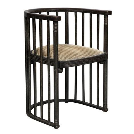 josef hoffmann chair barrel chairs manufactured by j j kohn pair by josef