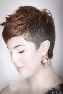 hair cut shavef sides shaved sides hairstyles women