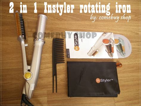 Pengeriting Curly Rambut Otomatis Instyler Tulip Auto Curler Waves buy must 2 in 1 instyler hair rotating iron hair curler deals for only rp490 000