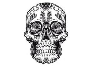 Free designs simple sugar skull tattoo 1600 x 1200 313 kb jpg pattern