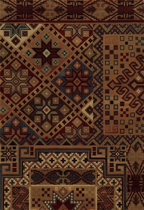 Lodge Area Rug Rizzy Rugs Bennington Southwestern Lodge Area Rug Collection Rugpal Bi4605 4200