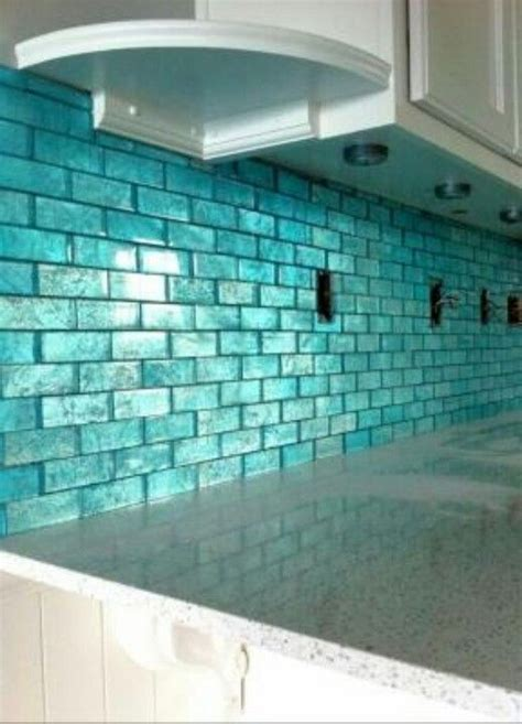aqua tile home decor inspiration