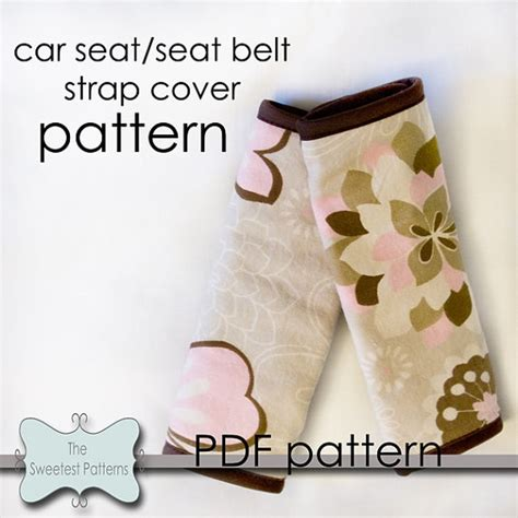 seat belt cover pattern 9 best images about seatbelt covers on