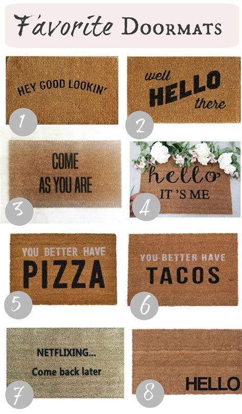 doormats with sayings curb appeal diy details nesting with grace