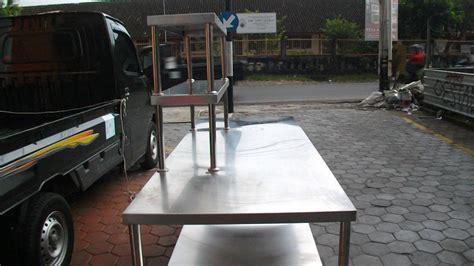 Meja Pi meja stainless murah dan berkualitas