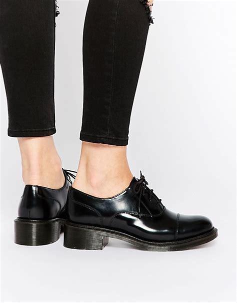 mid heel oxford shoes dr martens dr martens adelaide henrietta black oxford