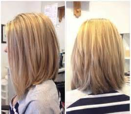 womans haircut back touches top of shoulders front is longer 15 exciting medium length layered haircuts popular haircuts