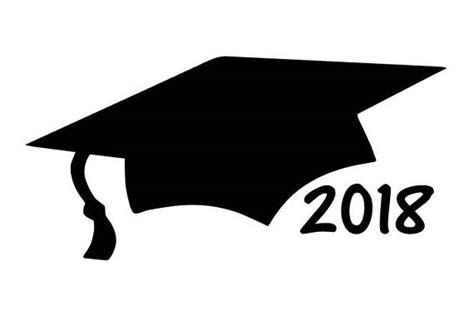 Class Of 2018 Graduation Date Graduation Cap Car Decal 2018 Graduation Gift Class Of 2018
