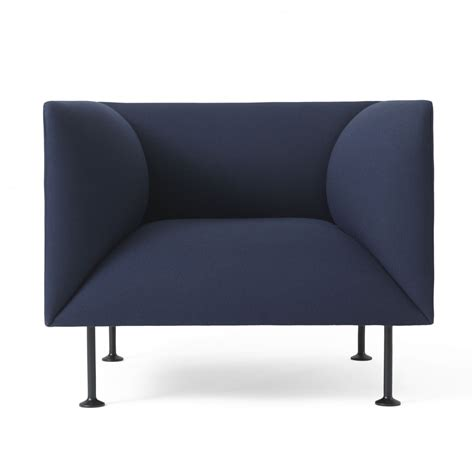 blue armchair godot armchair royal blue
