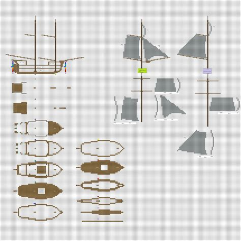 minecraft boat layout minecraft sailing ship blueprints www imgkid the