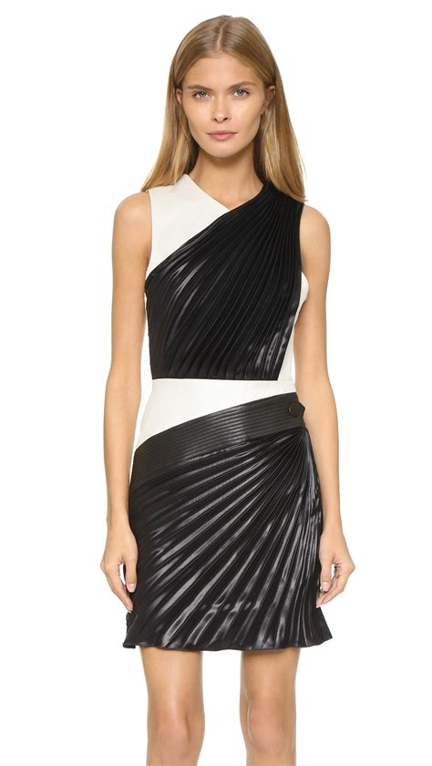 Who Wore It Better Emanuel Ungaro One Shoulder Sequin Dress by Lyst Emanuel Ungaro One Shoulder Dress White Black In