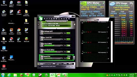 cpu fan temp monitor cpu gpu fan speeds and temperatures tutorial with links