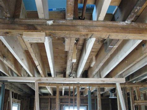 Supporting Ceiling Joists by Structural Repairs Load Bearing Walls Thumb And Hammer