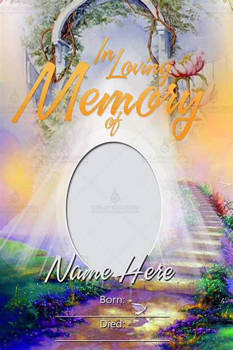 tarpaulin layout maker free download funeral poster design in memory of 171 coldfiredsgn