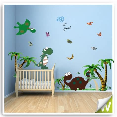 dinosaurs wall stickers bedroom dinosaur wall stickers animals decor decal large for baby