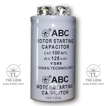 abc motor starting capacitor motor starting capacitor 125v 1200mf uf abc taiwan premium class