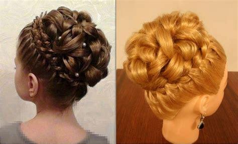 elegant hairstyles diy elegant braiding hairstyle with curls diy alldaychic