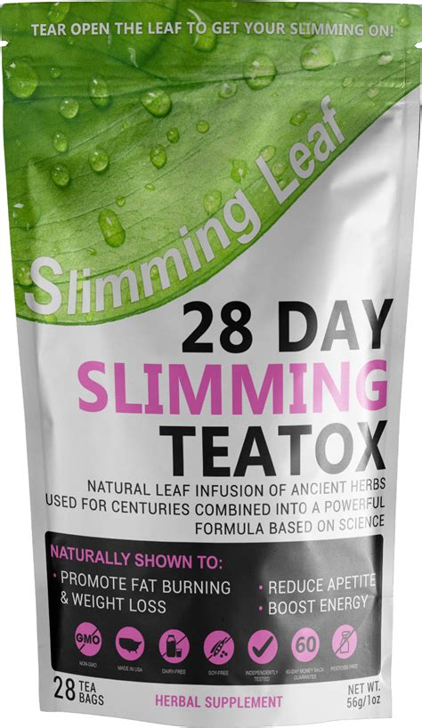 Slim Tea Detox Somaya Reviews by Slimming Leaf Review Is It Just Another Detox Tea
